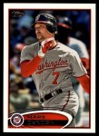 2012 Topps Update #227  Mark DeRosa  Front Thumbnail