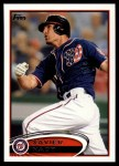 2012 Topps Update #230  Xavier Nady  Front Thumbnail