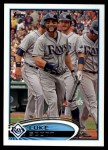 2012 Topps Update #239  Luke Scott  Front Thumbnail