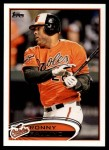 2012 Topps Update #240  Ronny Paulino  Front Thumbnail