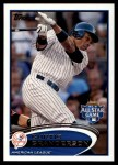 2012 Topps Update #241  Curtis Granderson  Front Thumbnail