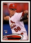 2012 Topps Update #242  Joe Kelly  Front Thumbnail