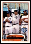 2012 Topps Update #246  Miguel Cabrera  Front Thumbnail