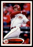 2012 Topps Update #247  Ryan Ludwick  Front Thumbnail