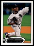 2012 Topps Update #257  Jose Quintana  Front Thumbnail