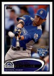 2012 Topps Update #259  Carlos Gonzalez  Front Thumbnail