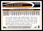 2012 Topps Update #263  Travis Snider  Back Thumbnail