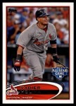 2012 Topps Update #273  Yadier Molina  Front Thumbnail