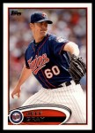 2012 Topps Update #274  Jeff Gray  Front Thumbnail