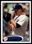 2012 Topps Update #278  Andy Pettitte  Front Thumbnail