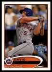 2012 Topps Update #280  David Wright  Front Thumbnail