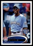 2012 Topps Update #283  Elvis Andrus  Front Thumbnail
