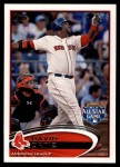 2012 Topps Update #292  David Ortiz  Front Thumbnail