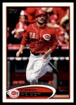 2012 Topps Update #309  Chris Heisey  Front Thumbnail
