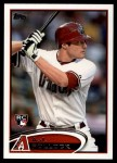 2012 Topps Update #319  A.J. Pollock  Front Thumbnail