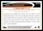 2012 Topps Update #325  Joel Hanrahan  Back Thumbnail