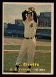 1957 Topps #398  Al Cicotte  Front Thumbnail