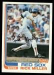 1982 Topps #717  Rick Miller  Front Thumbnail