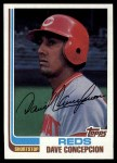 1982 Topps #660  Dave Concepcion  Front Thumbnail