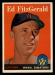 1958 Topps #236  Ed Fitzgerald  Front Thumbnail
