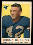 1959 Topps #65  Chuck Conerly  Front Thumbnail