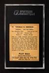 1941 Play Ball #39  Tommy Henrich  Back Thumbnail