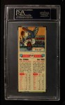 1955 Topps DoubleHeader #123 / 124 -  Gus Zernial / Bob Trice  Back Thumbnail