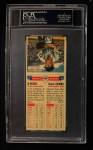1955 Topps DoubleHeader #1  Al Rosen / Chuck Diering  Back Thumbnail