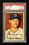1952 Topps #72 RED Karl Olson  Front Thumbnail