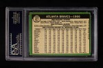1967 Topps #477   Braves Team Back Thumbnail