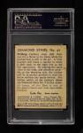 1935 Diamond Stars #97 BEE Al Lopez   Back Thumbnail