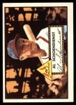 1952 Topps REPRINT #91  Red Schoendienst  Front Thumbnail