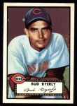 1952 Topps REPRINT #161  Bud Byerly  Front Thumbnail