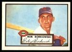 1952 Topps REPRINT #328  Bob Borkowski  Front Thumbnail