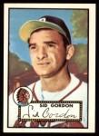 1952 Topps REPRINT #267  Sid Gordon  Front Thumbnail