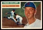 1956 Topps #291  Frank Kellert  Front Thumbnail