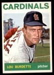 1964 Topps #523  Lew Burdette  Front Thumbnail
