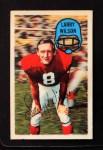 1970 Kelloggs #14  Larry Wilson  Front Thumbnail