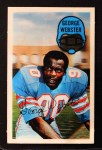 1970 Kelloggs #43  George Webster  Front Thumbnail