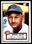 1952 Topps REPRINT #156  Frank Hiller  Front Thumbnail