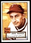 1952 Topps REPRINT #158  Eddie Waitkus  Front Thumbnail