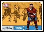 1968 Topps #60  Ralph Backstrom  Front Thumbnail