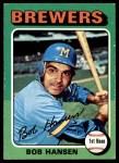 1975 Topps #508  Bob Hansen  Front Thumbnail