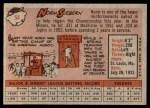 1958 Topps #54  Norm Siebern  Back Thumbnail