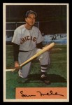 1954 Bowman #22 ALL Sam Mele  Front Thumbnail