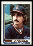 1982 Topps Traded #128 T Rob Wilfong  Front Thumbnail
