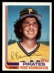 1982 Topps Traded #3 T Ross Baumgarten  Front Thumbnail