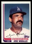 1982 Topps Traded #75 T Jose Morales  Front Thumbnail
