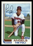 1982 Topps Traded #34 T Tim Foli  Front Thumbnail