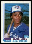 1982 Topps Traded #2 T Jesse Barfield  Front Thumbnail